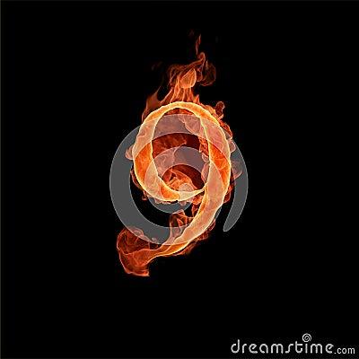 Burning number 9