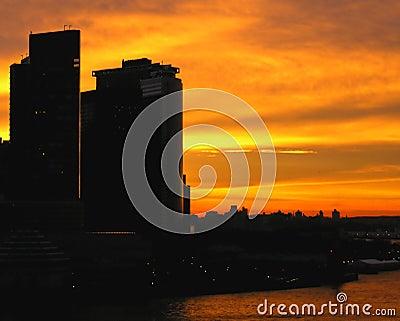 Burning Skyline