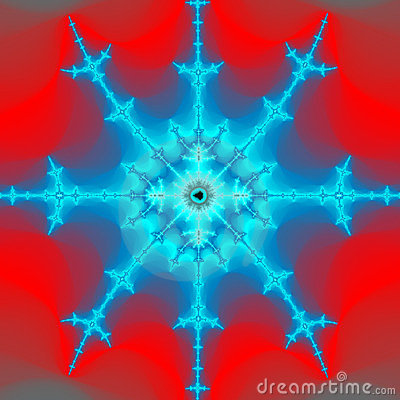Burning Snowflake