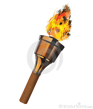 Burning Torch
