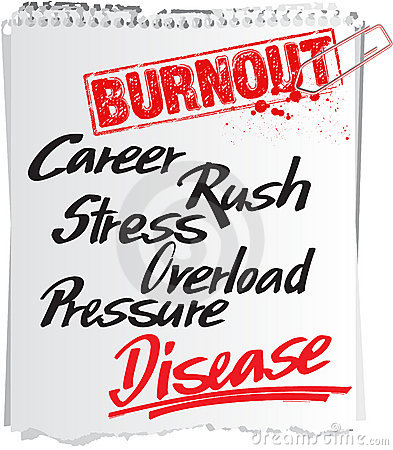 Burnout note