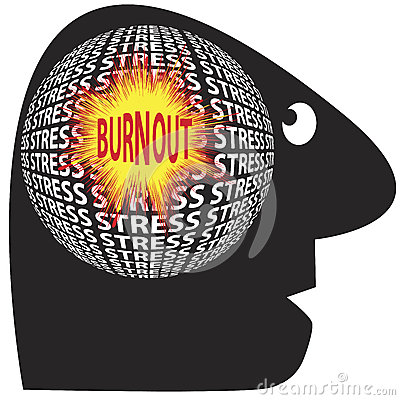 Burnout through stress