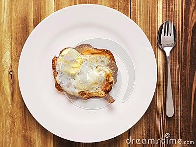 Burnt breakfast