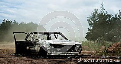 Burnt Car 2