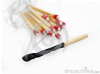 Burnt Match