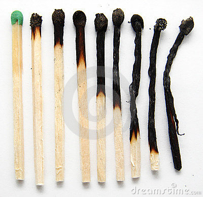 Free Burnt Matches2 Stock Photos - 1445713