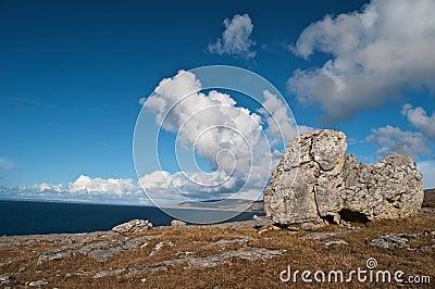 Burren保护的著名横向公园