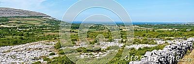 Burren den ireland nationalparken