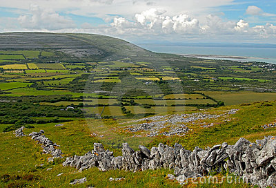 The Burren Fields Royalty Free Stock Photos - Image: 12617848