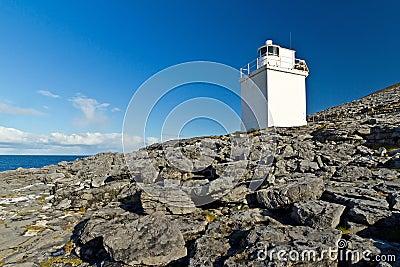 Burren Lighthouse.