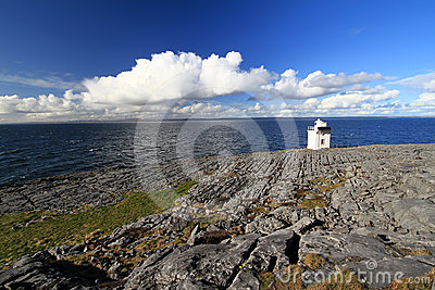 Burren Lighthouse in Co.Clare