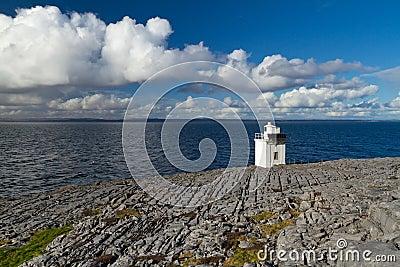 Burren Lighthouse scenery