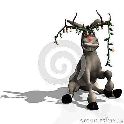 Burro de la Navidad