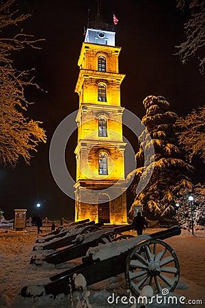 Free Bursa Clock Tower Stock Image - 28843491