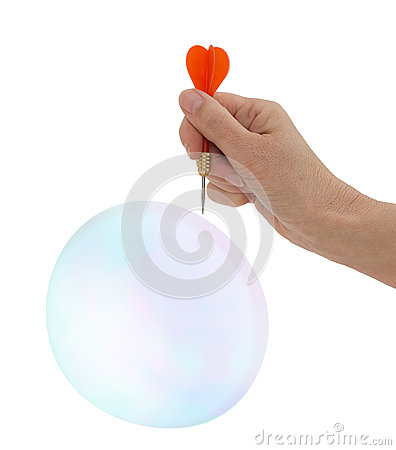 Free Burst My Bubble! Concept - Hope, Optimism, Love, Life. Stock Photos - 41562873