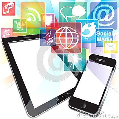 Bursting App Icons
