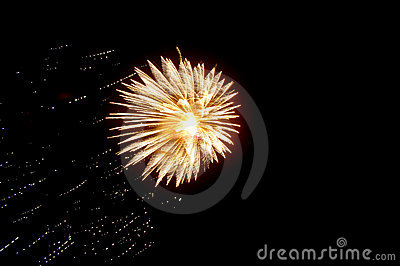 Bursting Fireworks
