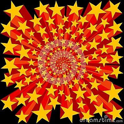 Bursting Stars Background