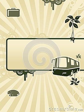 Bus background