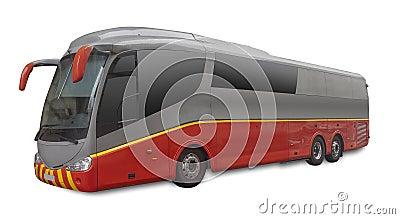 Bus del passeggero, isolato