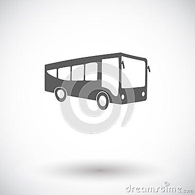Free Bus Icon Royalty Free Stock Photo - 97577405