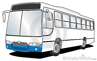 Bus Line Art 01