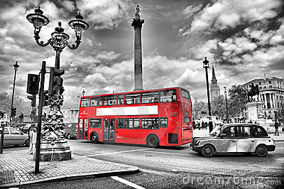 Bus in London