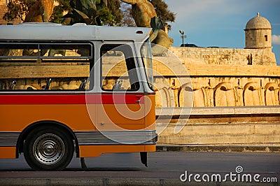 Bus in Malta