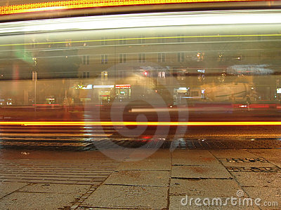 Bus nachts