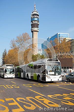 Bus of the Public transportation