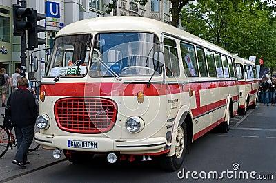 Bus Skoda 706 RTO (Karosa) Editorial Photo