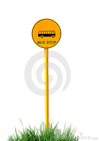 Bus Stop Sign Stock Photos - Image: 18333023
