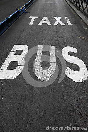 Bus and Taxi Lane