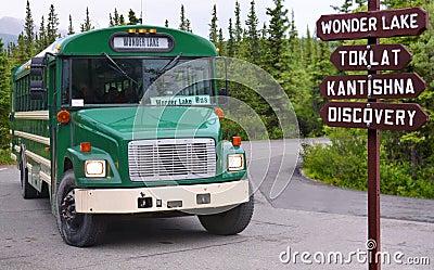 Bus to Wonder Lake
