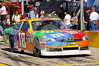 Busch camry kyle m ms nascar s Toyota Fotografia Editorial