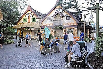 Busch gardens in tampa Editorial Photo