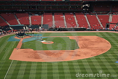 Busch Stadium - St. Louis Cardinals Editorial Stock Photo
