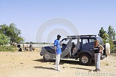Bush in Burkina Faso Editorial Photo
