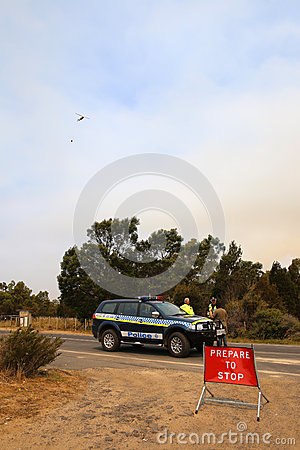 Free Bushfires In Tasmania Royalty Free Stock Photos - 28801808