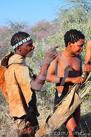 Bushman Editorial Photo