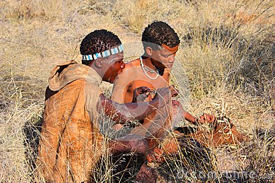 Bushman Editorial Image