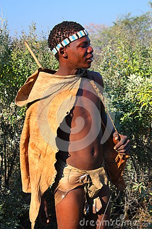 Bushman Editorial Photo