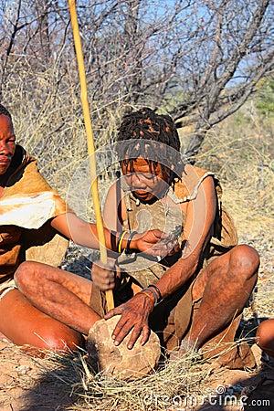 Bushman Editorial Photography