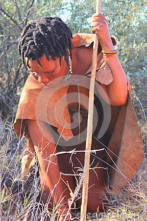 Bushman Editorial Photography