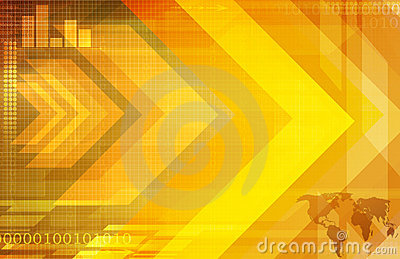 Business Abstract Background Arrow Design