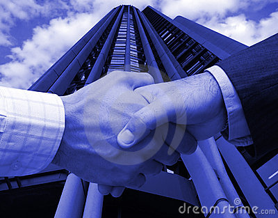 Business agreement in Madrid