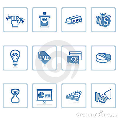 Free Business And Finance Icon Royalty Free Stock Image - 2217096