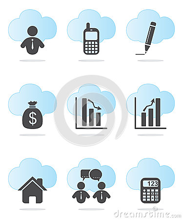 Free Business And Finance Icons Stock Photography - 28084932