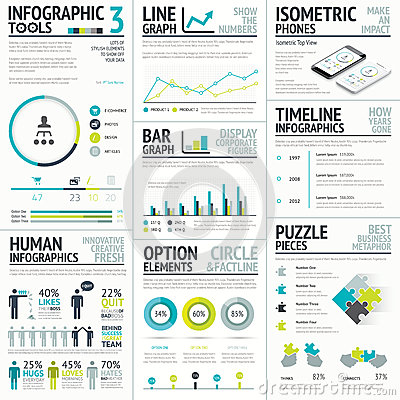 Free Business And Human Vector Infographic Element Big Royalty Free Stock Photos - 41826898