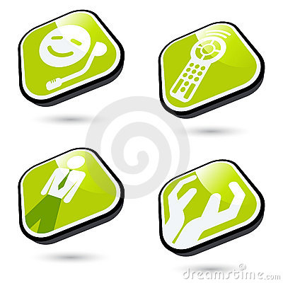 Free Business And Technology Icons Royalty Free Stock Image - 11126246